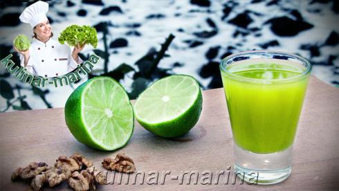 Рецепт с пошаговыми фотографиями и подробным описанием: Ликер из лаймов, домашний рецепт | Liqueur of limes, homemade recipe