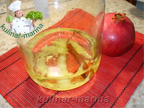 Гранатовый ликер на водке | Pomegranate liqueur with vodka
