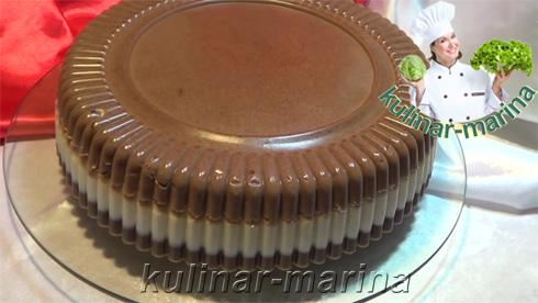 Рецепт с пошаговыми фотографиями и подробным описанием: Желейный торт Птичье молоко без выпечки | Jelly birds milk without baking