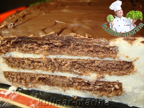 Рецепт с пошаговыми фотографиями и подробным описанием: Торт без выпечки | Cake without baking