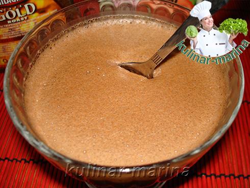 Рецепт с пошаговыми фотографиями и подробным описанием: Шоколадное желе. Очень вкусно и шоколадно... | Chocolate jelly. Very tasty and chocolate...