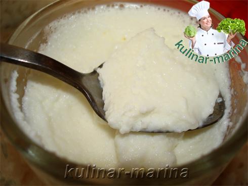 Рецепт с пошаговыми фотографиями и подробным описанием: Молочный десерт для детей вместо мороженого | Milk dessert for instead of ice cream