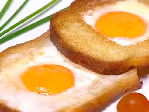 Яичница по-французски - вкусный завтрак | Scrambled eggs in French - delicious Breakfast