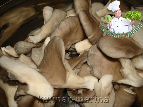 Маринованные вешенки - отличная закуска | Marinated oyster mushrooms - great snack