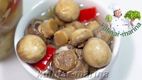 Отличный и простой подробный грибной рецепт: Быстрые маринованные грибочки | Quick marinated mushrooms