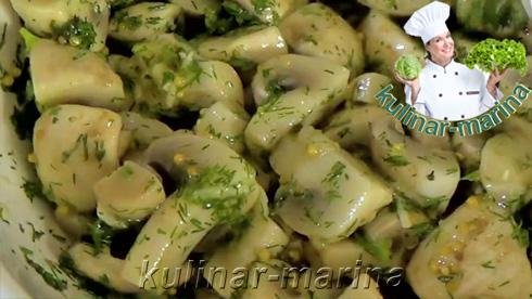 Бесподобно вкусные грибочки: Закусочные шампиньоны | Snack mushrooms