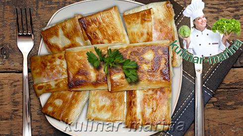 Конвертики из лаваша | The envelopes of pita bread