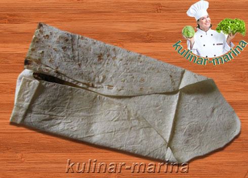 Лаваш с начинкой | Pita bread stuffed with