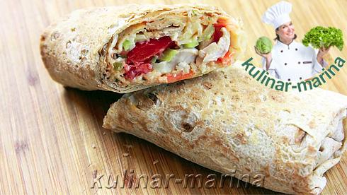 Шаурма домашняя | Shawarma home