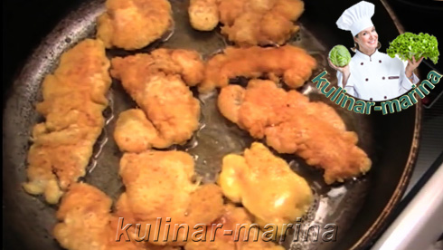 Куриная грудка в кляре | Chicken breast in batter