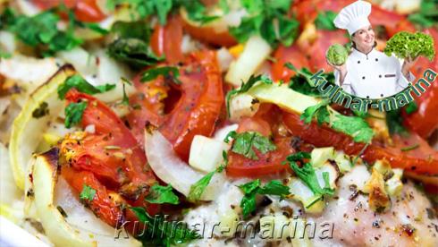 Курица с овощами и прованскими травами | Chicken with vegetables and herbs