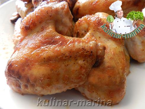 Куриные крылышки в пряном маринаде | Chicken wings in spicy marinade