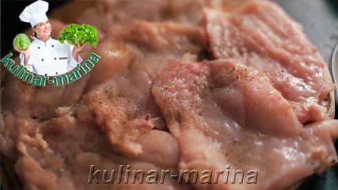 Куриная грудка по итальянским мотивам   Chicken breast on Italian grounds