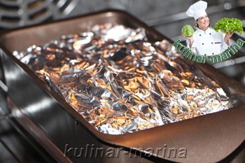 Подробные и пошаговые фотографии рецепта: Диетическая куриная ветчина | Diet chicken ham