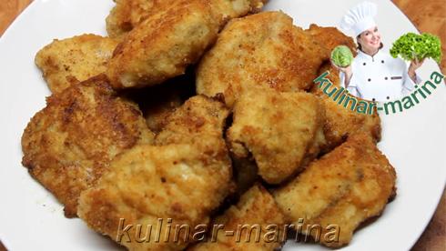 Пошаговые фотографии рецепта: Наггетсы из куриной грудки | Nuggets of chicken breast