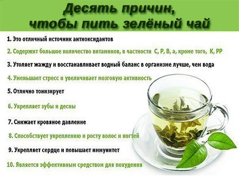 Пейте зеленый чай. Польза зелёного чая.