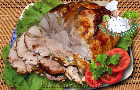 И снова буженина. Лучшие рецепты | And again baked ham. Best recipes