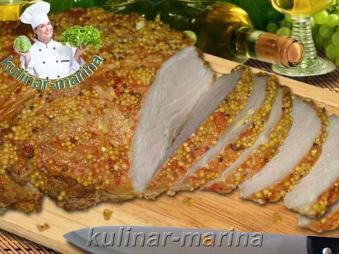 Буженина в рукаве для запекания | Cold boiled pork