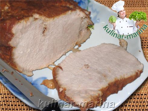 Буженина с дымком | Pork with smoke