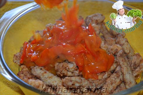 Как приготовить габаджоу в сладком соусе
