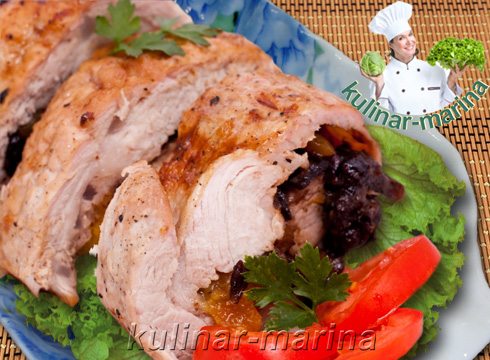 Свинина с курагой и черносливом | Pork with apricots and prunes