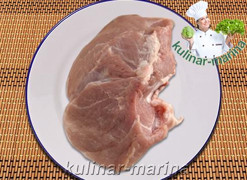 Сочная свинина в духовке   Juicy pork in the oven