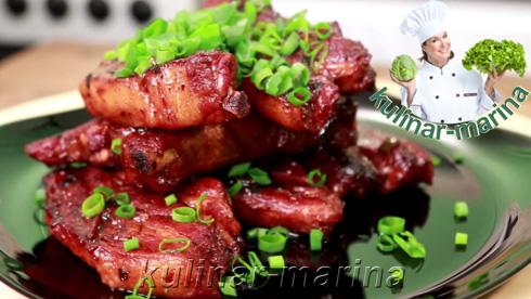 Свиные ребрышки по-китайски | Pork ribs in Chinese
