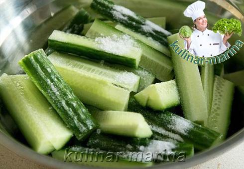 Огурцы с мясом по-корейски | Cucumbers with meat in Korean