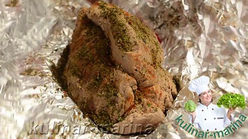 Пошаговые подробные фото рецепта: Говядина для бутербродов | Beef for sandwiches