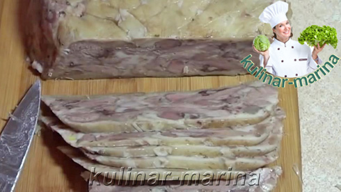 Ветчина из рульки | The ham shank