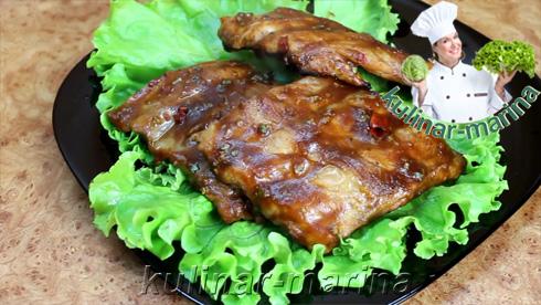 Пошаговые подробные фото рецепта: Безумно вкусные ребрышки | Insanely delicious ribs