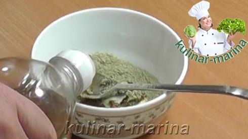 И добавить самую малость растительного масла.