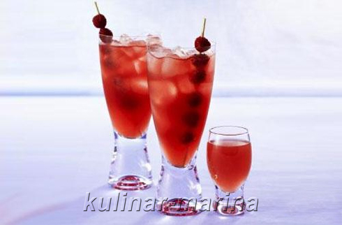 Сок из малины | Juice of raspberry