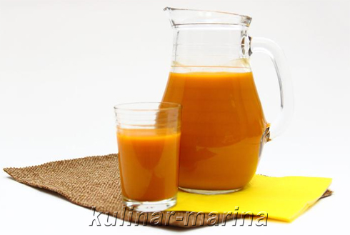Сок из облепихи | Juice of sea buckthorn