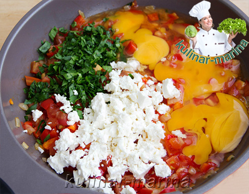 Пошаговые фото рецепта: Миш-маш - блюдо болгарской кухни | Mish-mash - a dish from the Bulgarian cuisine