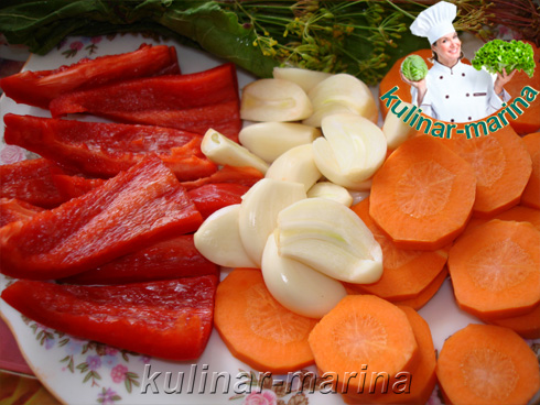 Капуста маринованная со свеклой | Cabbage pickled with beets