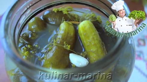 Как засолить огурцы. Самый простой способ | How to pickle cucumbers. The easiest way