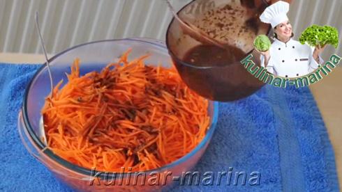 Пошаговые фото рецепта: Корейская морковь - это просто и вкусно | Korean carrot is simple and delicious