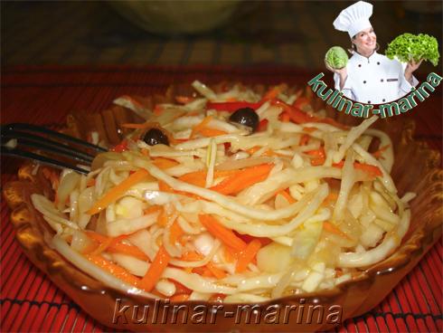Кисло-сладкая квашенная капуста | Sweet and sour pickled cabbage