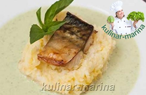 Cкумбрия в картофельном пюре | Ckumbriya in mashed potatoes