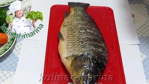 Подробный рецепт с пошаговыми фотографиями: Карп, запеченный в сметане | Carp, baked in sour cream