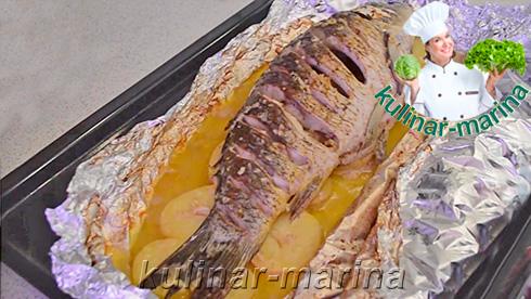 Очень вкусный карп в духовке | Delicious carp in the oven
