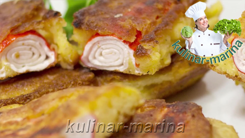 Крабовые палочки в сырном кляре | Crab sticks in cheese batter