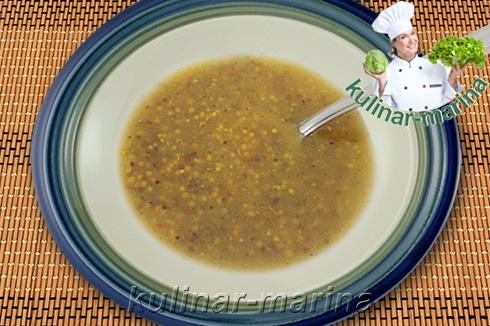 Сельдь в горчичной заливке | Herring in mustard filling