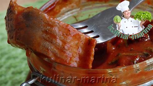 Подробный рецепт с пошаговыми фотографиями: Сельдь в томатном маринаде | Herring in tomato marinade