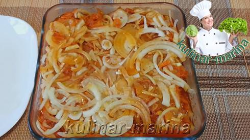 Скумбрия с морковкой в томате | Mackerel with carrots in tomato sauce