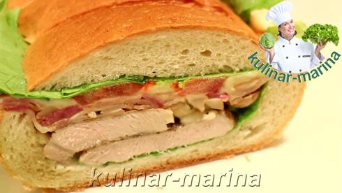 Сэндвич-гигант под прессом   The sandwich under pressure