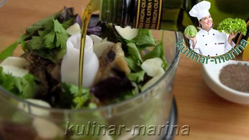 Дип из баклажанов   Dip eggplant