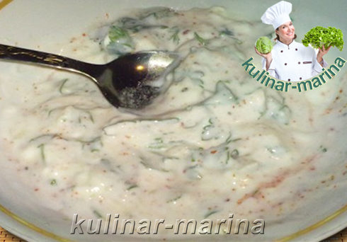 Белый соус к мясу | White sauce for meat