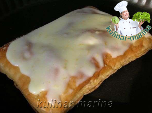 Нежные пирожные из слоеного теста | Delicate pastries puff pastry
